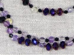 Комплект бусы и браслет из аметрина от Nur